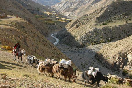 itinerario trekking