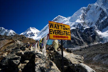 Trekking sull'Himalaya in Nepal