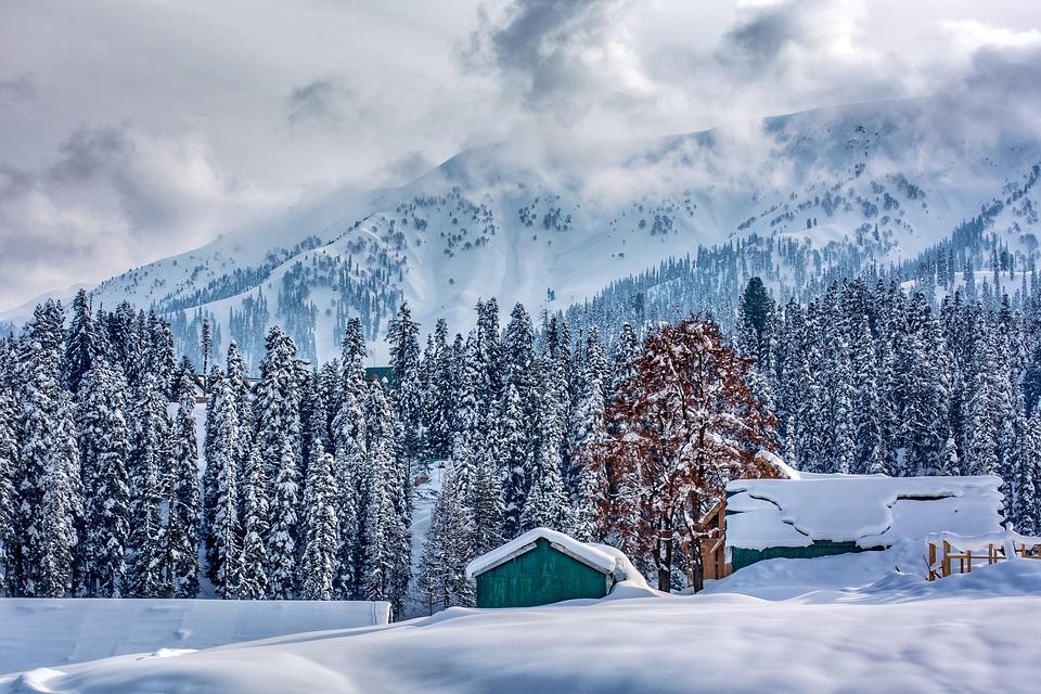 Sciare in Kashmir