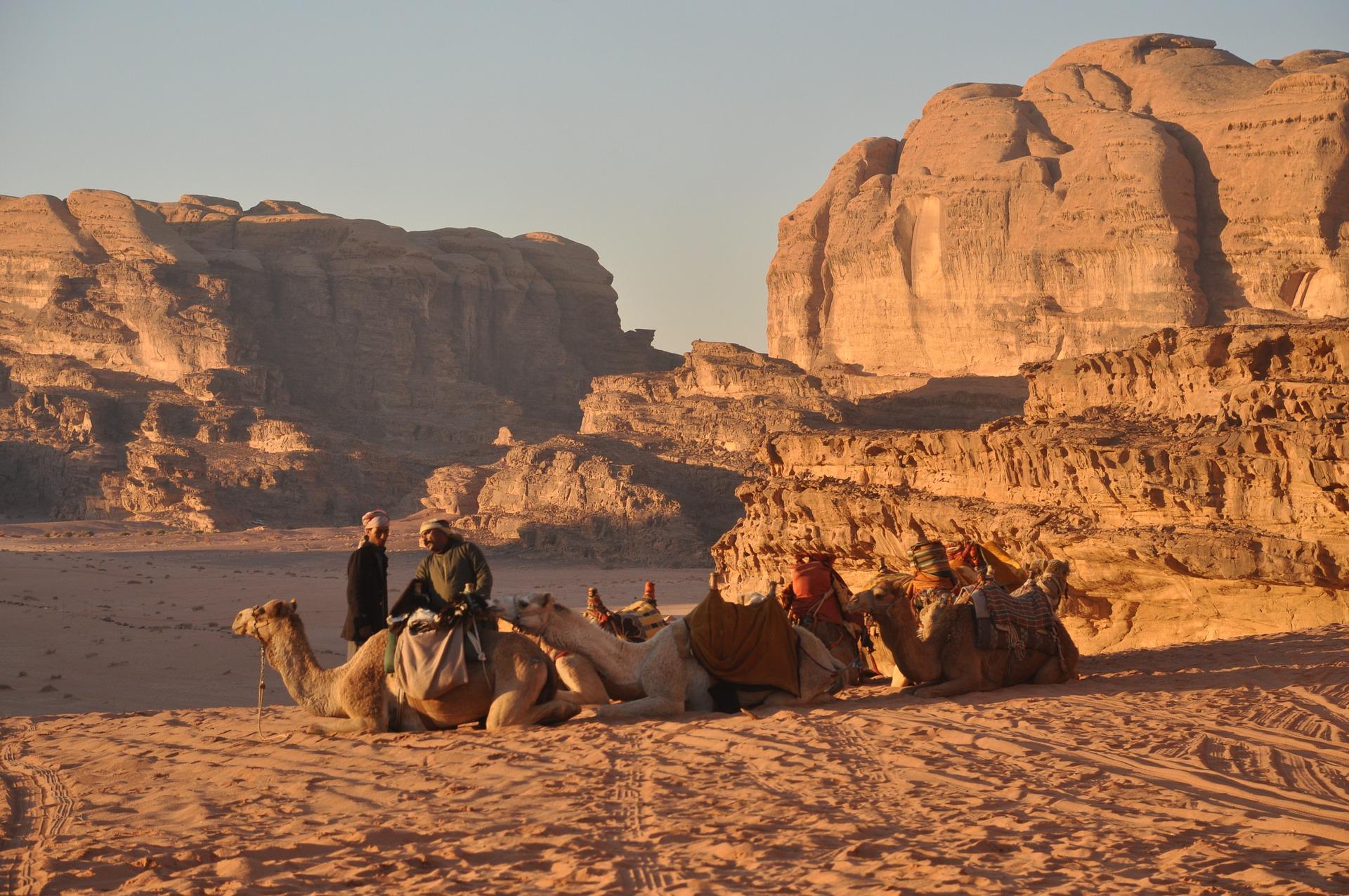 Trekking in Jordan