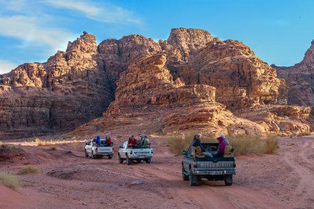 Trekking in Giordania