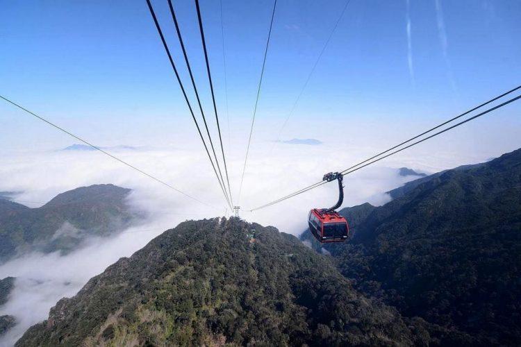 Mount Fan Si Pan in Vietnam