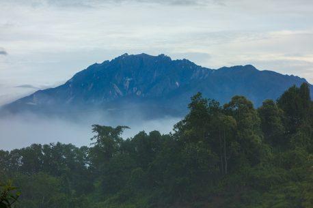 monte Kinabalu in Malesia