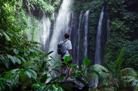 trekking a Bali