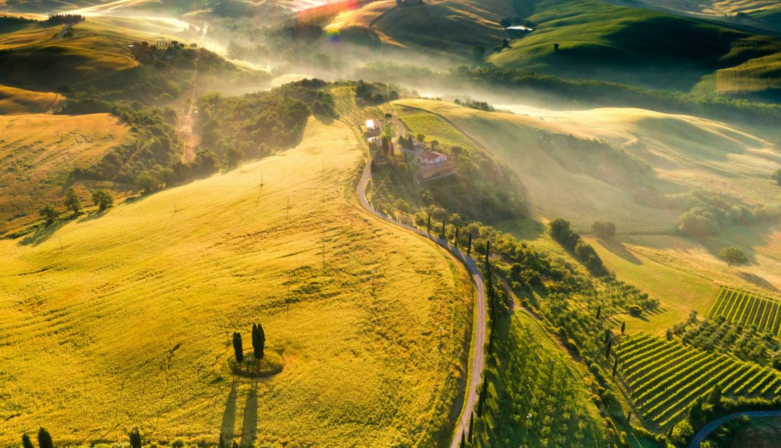 viaggio trekking in Toscana